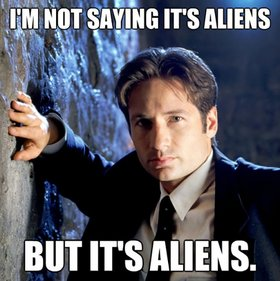 Calling Mulder and Scully: THe BeAcH BoYs ExPeRieNCe X-Files 04-memes-of-the-week